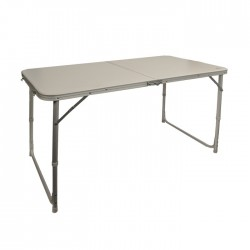 TABLE VALISE ALUMINIUM 4 PLACES