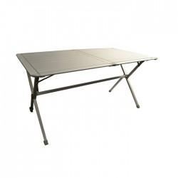 TABLE CLAYETTE ALUMINIUM 6 PLACES